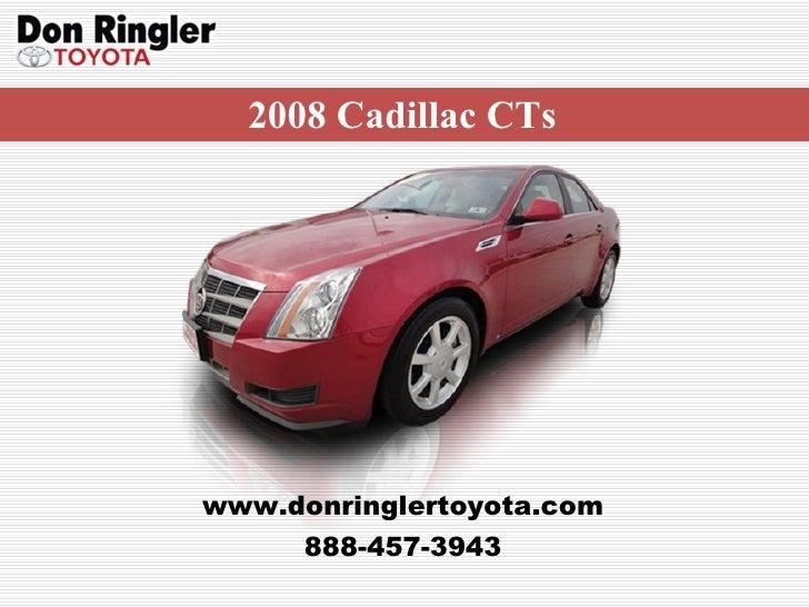 Used Cadillac CTS Don Ringler Car Dealer Texas - Cadillac dealers texas