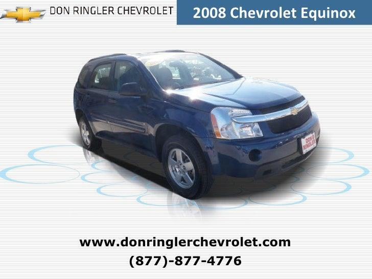 Used 2008 Chevrolet Equinox FWD 4dr LS - Don Ringler Waco Chevrolet