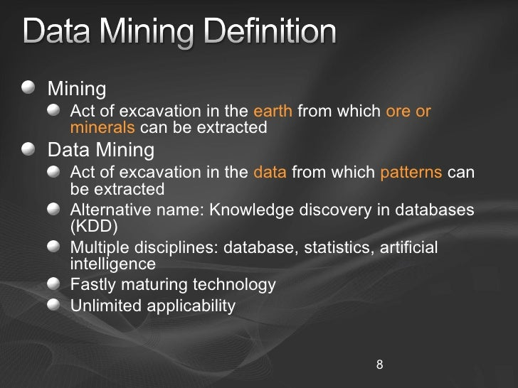 overview of the data mining Data mining is a versatile feature that enables you to query your firm's ultratax cs databases for specific data and client characteristics when you use data mining.