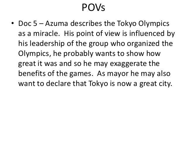 Olympic games dbq essay topics
