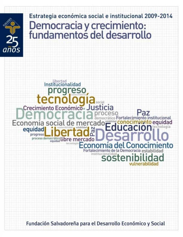 Fundación Salvadoreña para el Desarrollo Económico y Social                            MISIÓN            Ser            un...