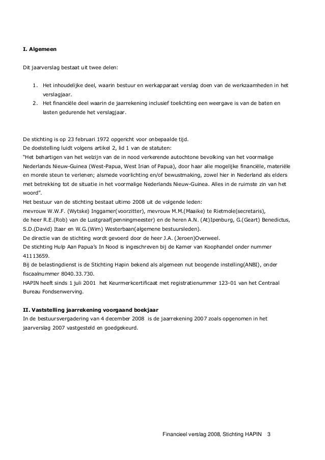 2008 financieel jaarverslag Slide 3