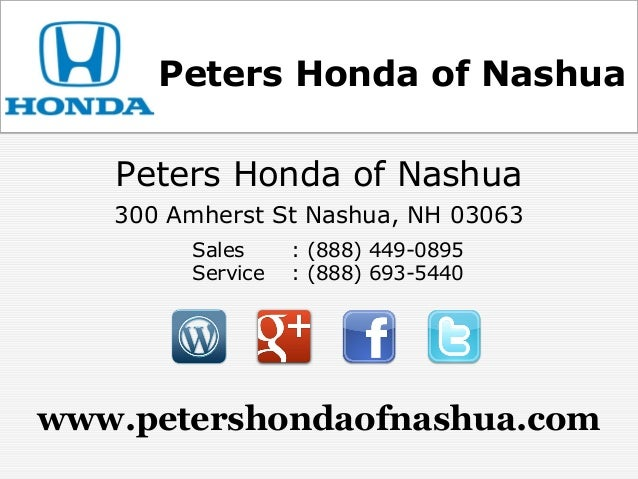Charming Peters Honda Of Nashua ...