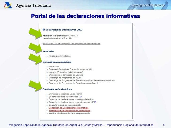 2008 informativas inf difusion for Aeat oficina virtual sede electronica