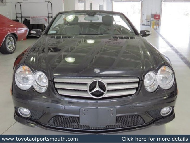 Used 2008 mercedes benz sl class portsmouth nh dealer for Mercedes benz dealers in nh