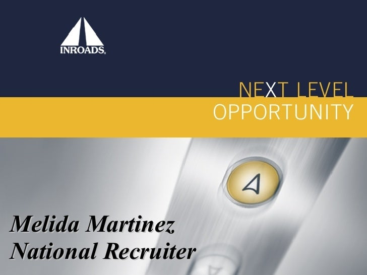 Melida Martinez National Recruiter
