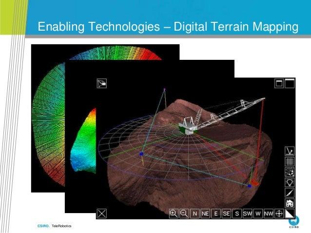CSIRO. TeleRobotics Enabling Technologies – Digital Terrain Mapping