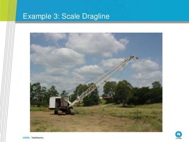 CSIRO. TeleRobotics Example 3: Scale Dragline