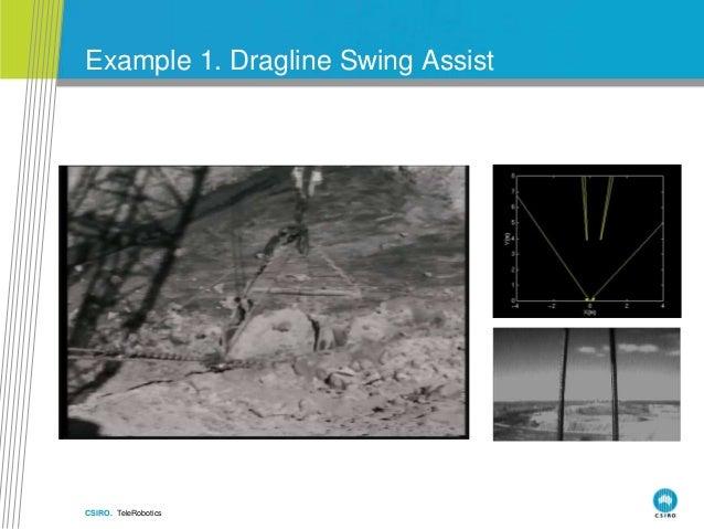 CSIRO. TeleRobotics Example 1. Dragline Swing Assist