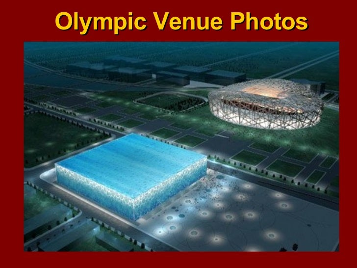 Olympic Venue Photos
