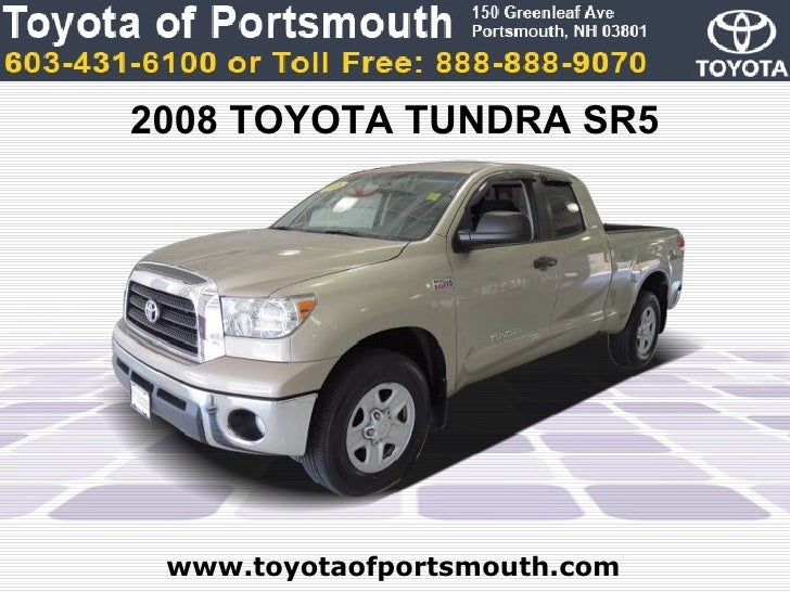 Used Toyota Tundra SR Portsmouth NH Toyota Dealer - Toyota dealer nh