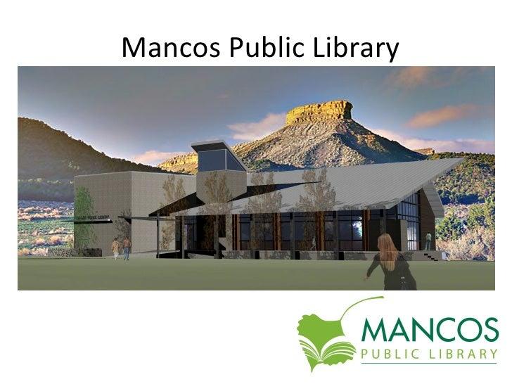 Mancos Public Library Building Project Updates & Photos