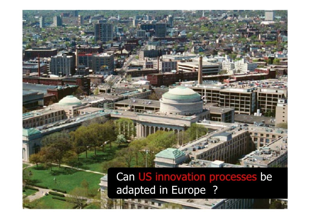 Can US innovation processes be              adapted in Europe ? 28.03.2009   Claude Florin (EL82) claude.florin@a3.epfl.ch...