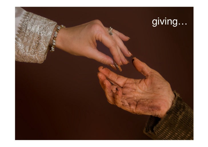giving…