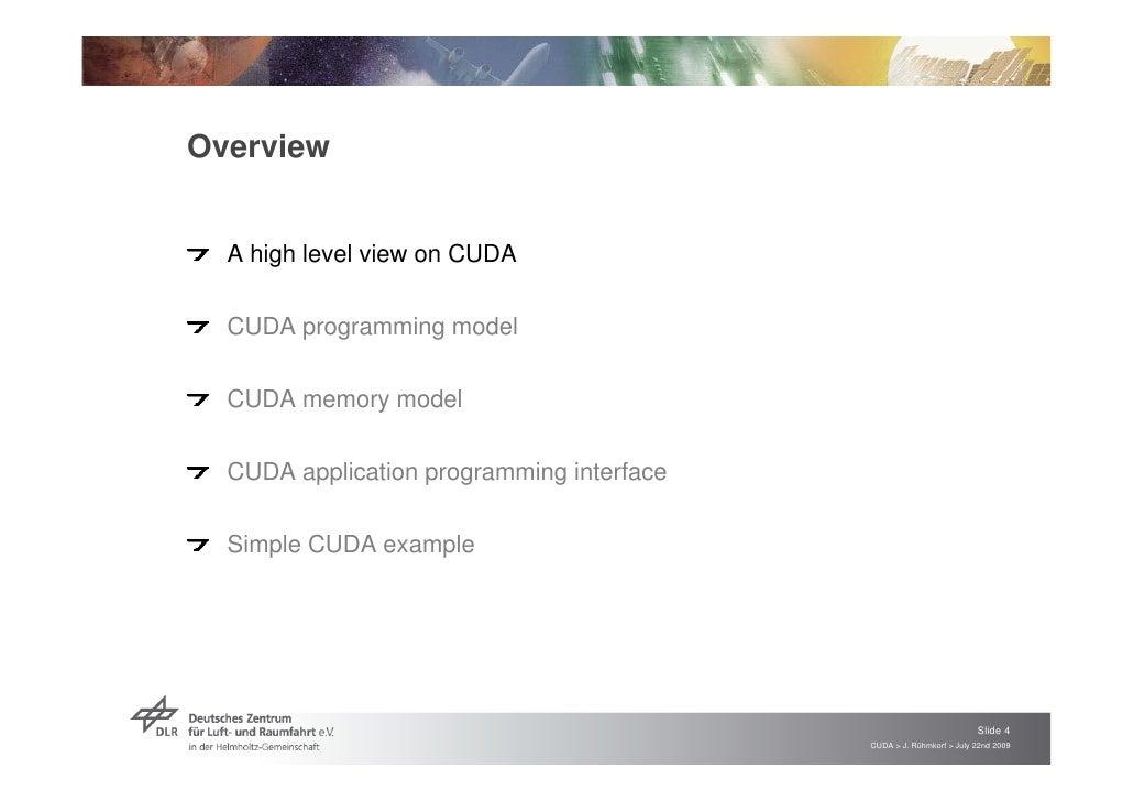 Tech Talk NVIDIA CUDA