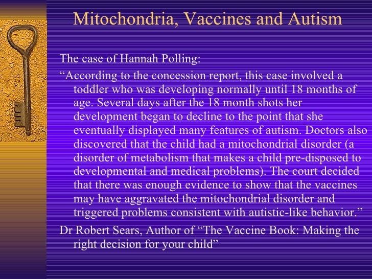 vaccines and autism case studies There is no link between vaccines and autism some people have had concerns that asd might be linked to the vaccines children receive, but studies have shown that there is no link between receiving vaccines and developing asd.