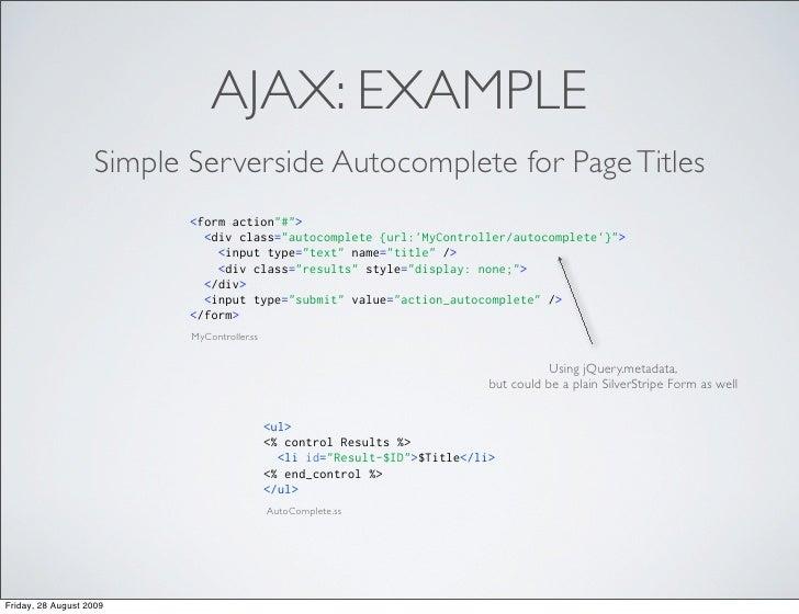 SilverStripe CMS JavaScript Refactoring