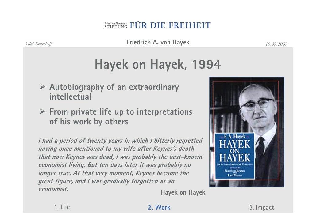 hayek knowledge essay