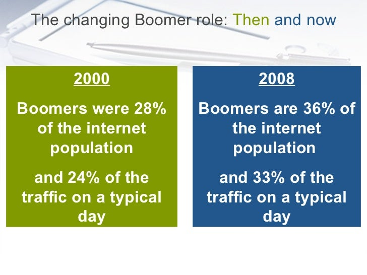 Baby Boomers in the digital age Slide 3