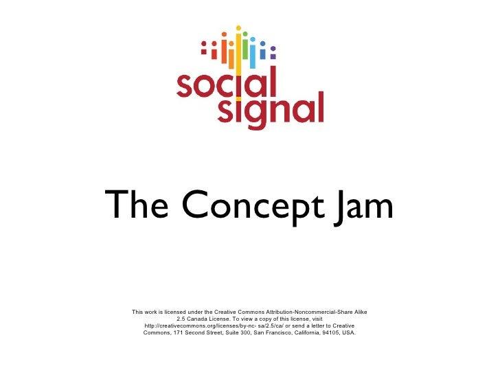 Social Signal - Concept Jam Presentation