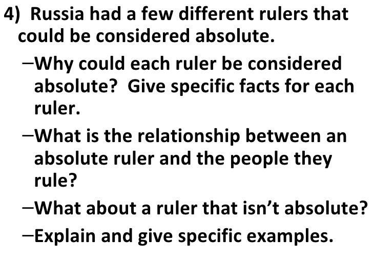 2009 10 Constitutionalism & Absolutism Essential Questions