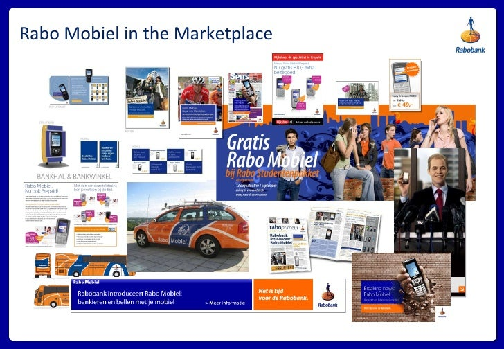 Rabo Mobiel in the Marketplace