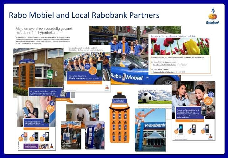 Rabo Mobiel and Local Rabobank Partners