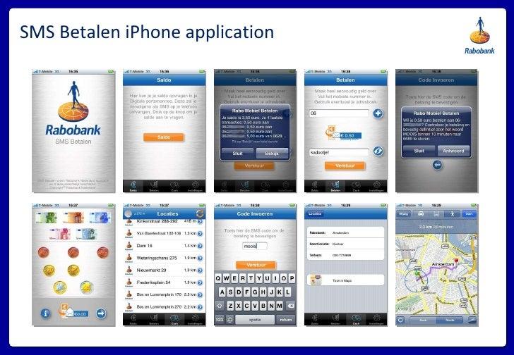 SMS Betalen iPhone application