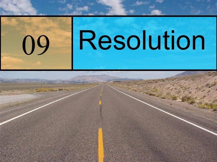 09 Resolution