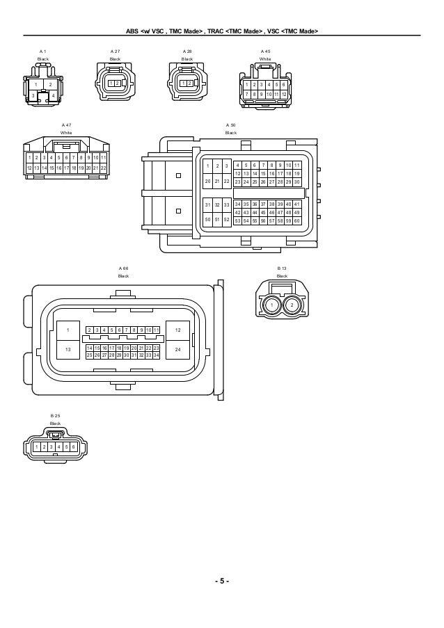2009 2010 toyota corolla electrical wiring diagrams2010 toyota prius wiring  diagram abs #8