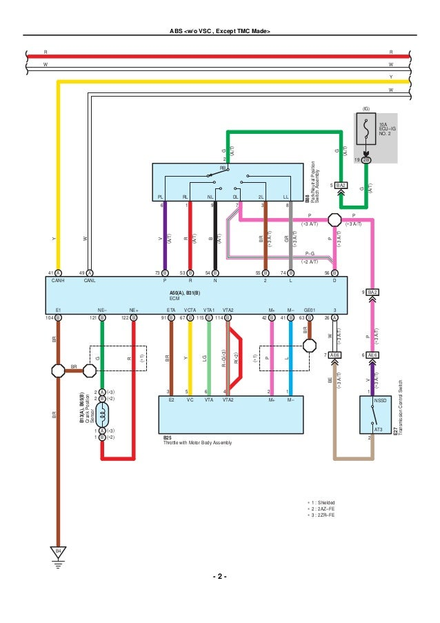 2009 Toyota Corolla Ignition Coil Diagram