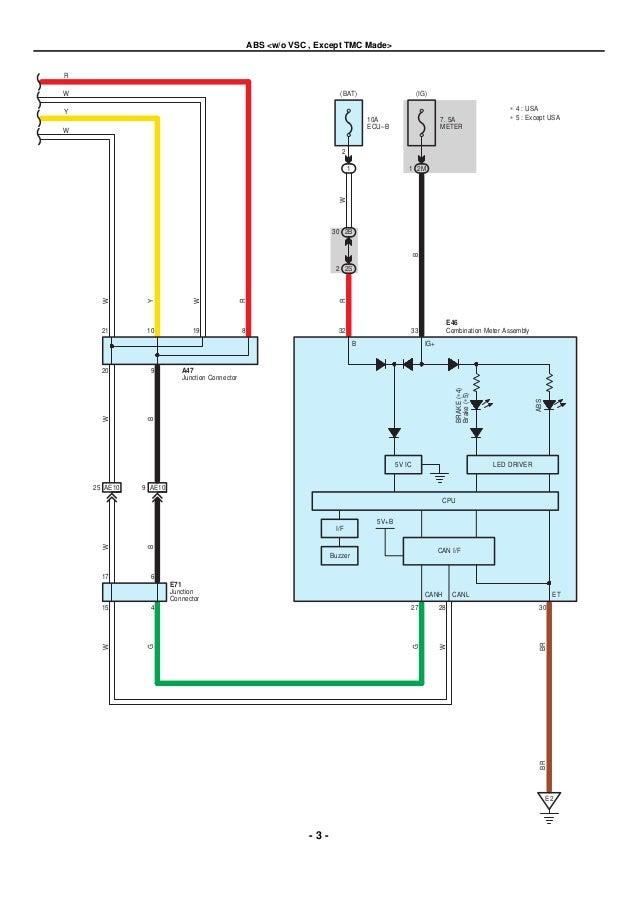 2009 2010 toyota corolla electrical wiring diagrams rh slideshare net