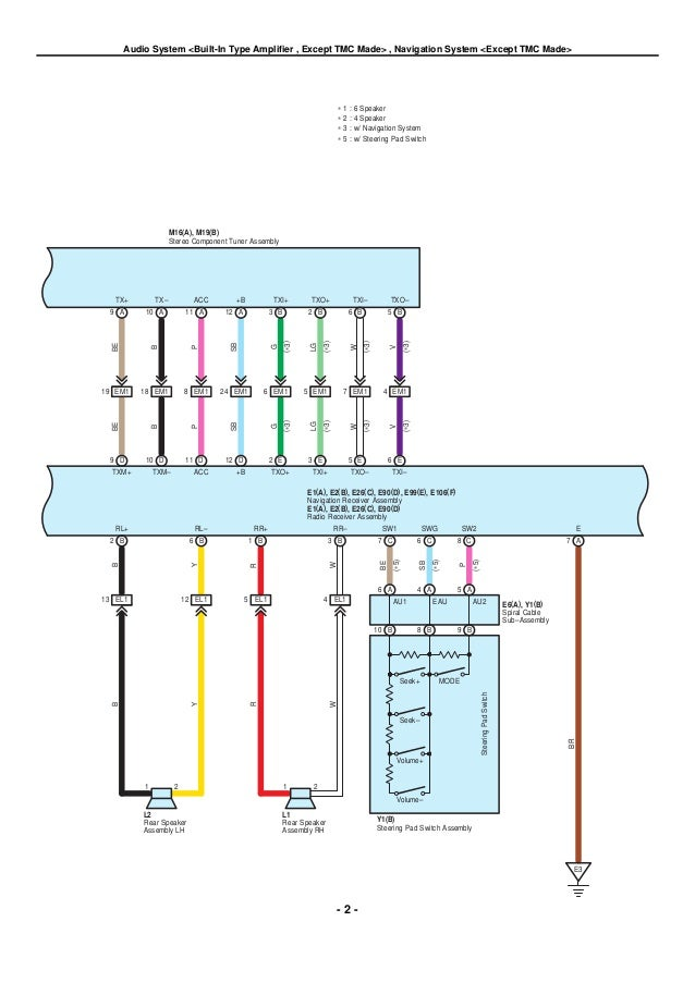 Toyota Yaris Subwoofer Wiring Diagram ‐ Wiring Diagrams Instruction