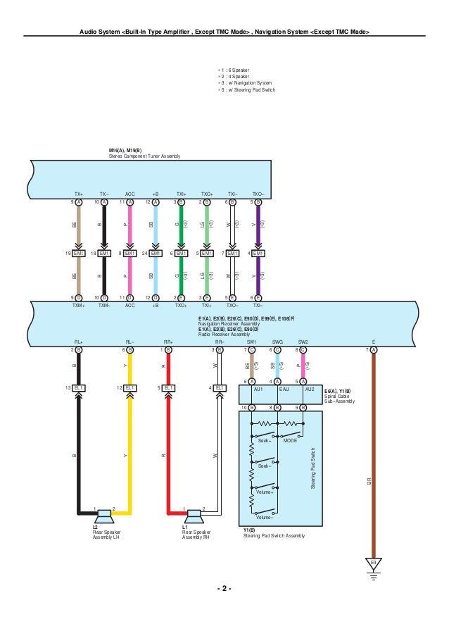 2009 toyota tacoma radio wiring diagram efcaviation com
