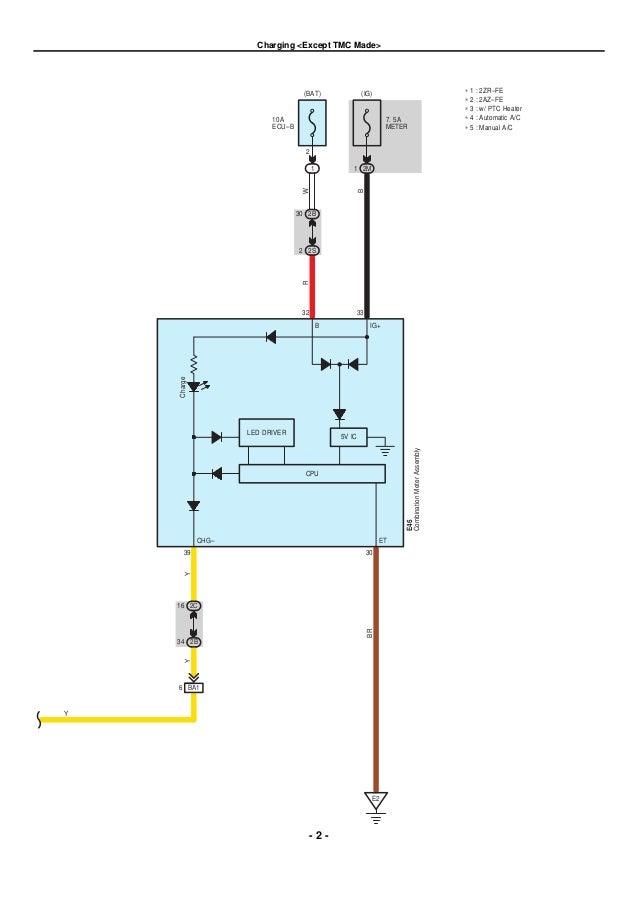 2010 Toyota Corolla Schematics - Electrical Wiring Diagram House •