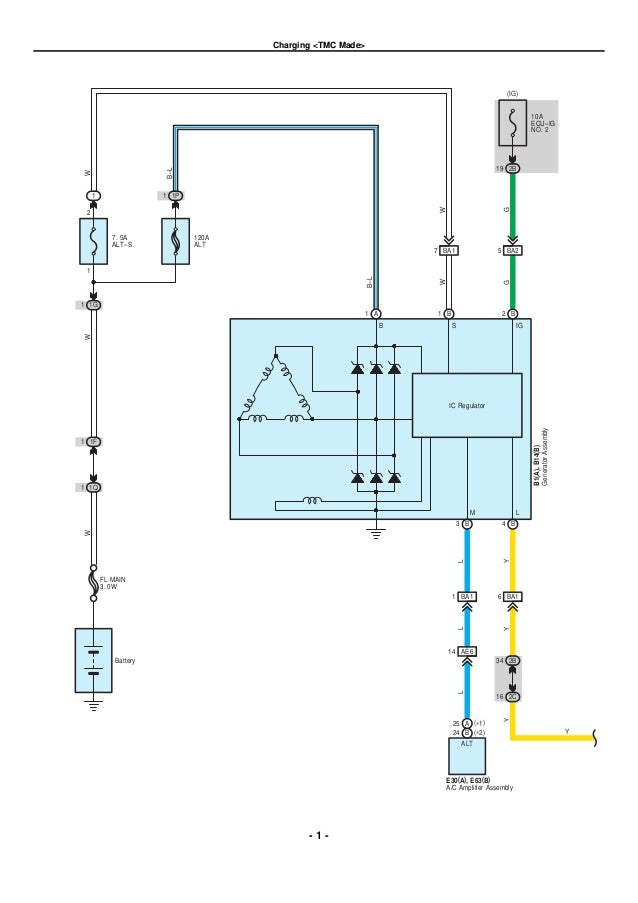 2013 Toyota Corolla Wiring Diagram - ~ Wiring Diagram Portal ~ •