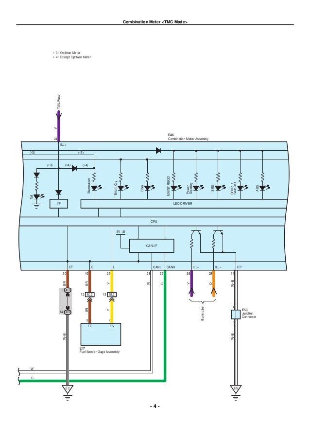 Toyota Rear Stop Light Wiring Diagram - Wire Data Schema •