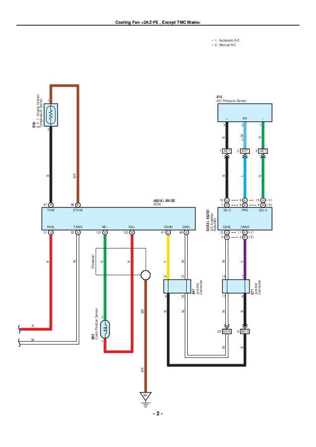 2009 2010 toyota corolla electrical wiring diagrams Wiring Diagrams AC Tucson 2005 84