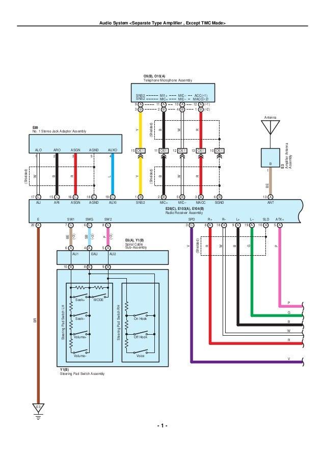 2007 Toyota Corolla Wiring Diagram - Find Wiring Diagram •