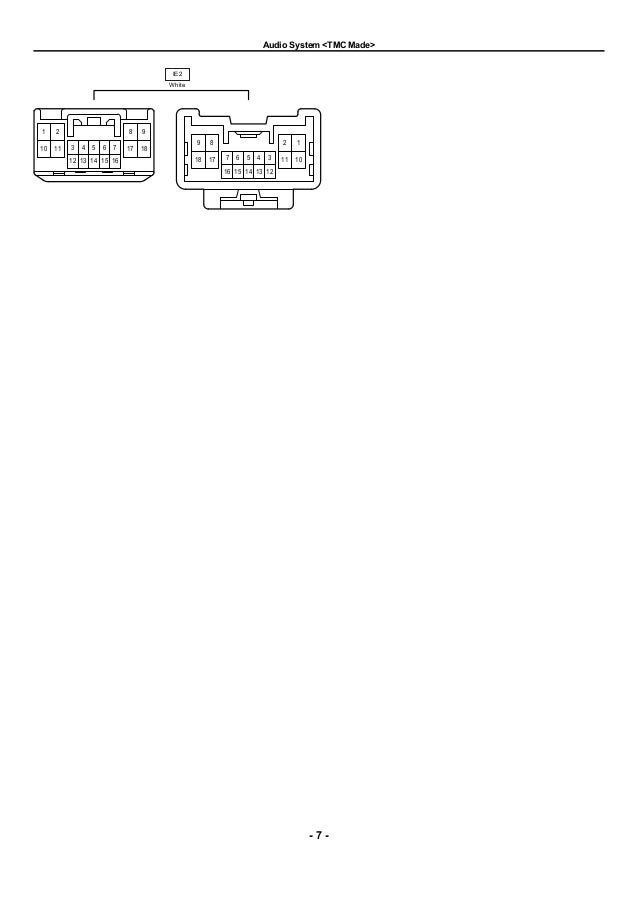 2009 2010 toyota corolla electrical wiring diagrams rh slideshare net 82 Corolla Drift 82 Corolla Wagon