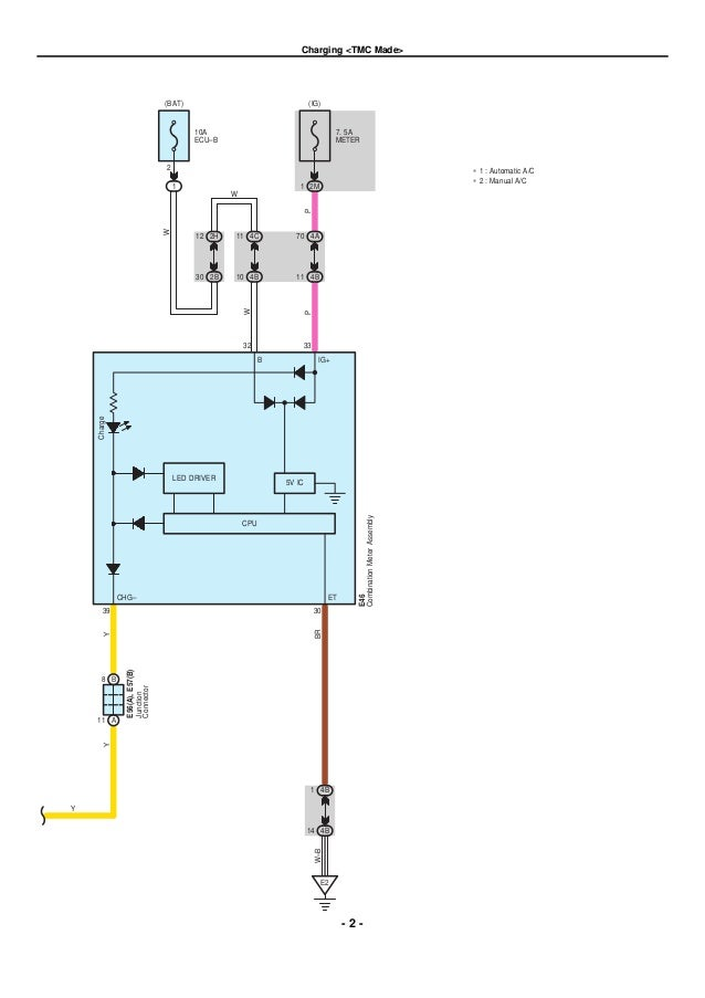 2010 Corolla Air Conditioner Wiring Diagrams - House Wiring Diagram ...