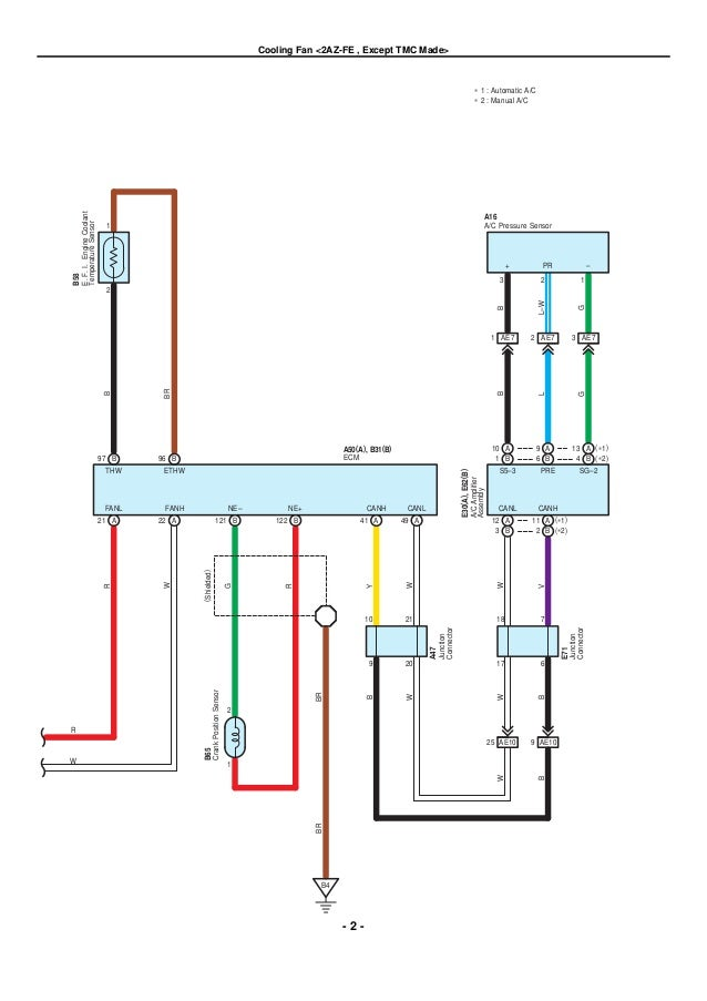 2009 2010 toyota corolla electrical wiring diagrams rh slideshare net  97 toyota corolla wiring diagram
