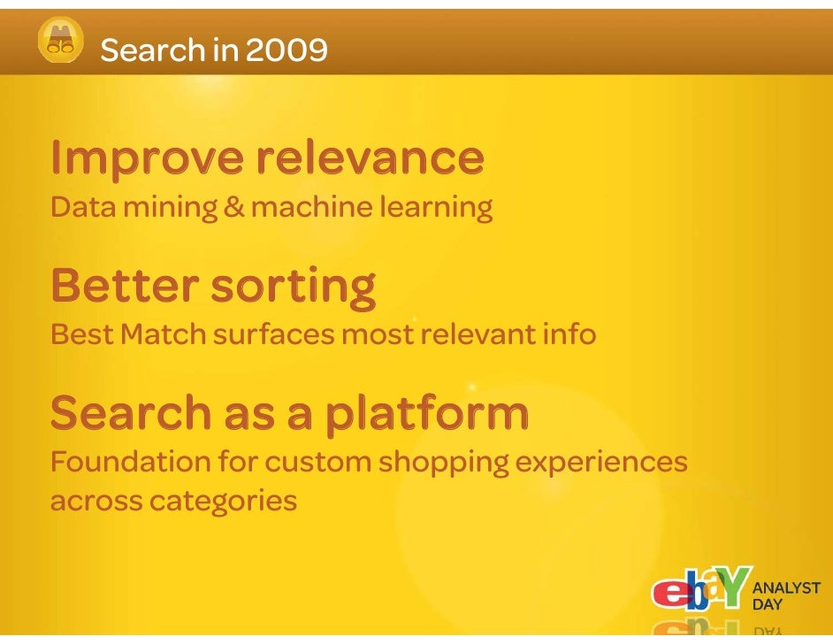 eBay s eBay's Catalogg Bringing structure to unstructured data