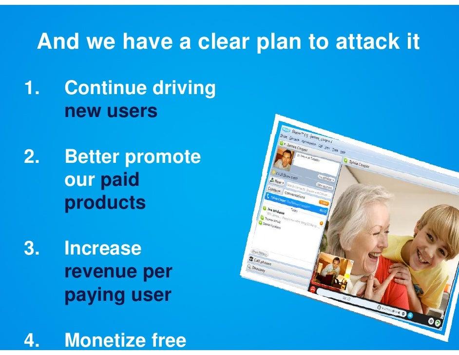 Platform: A Thriving Ecosystem                    g     y                                          users  190 Skype certif...