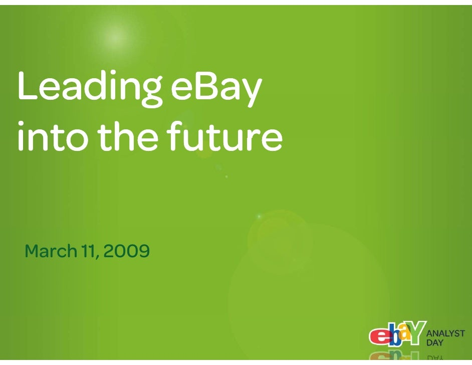 What we do: Connect buyers and sellers                         eBay                       PayPal                      P Pl...