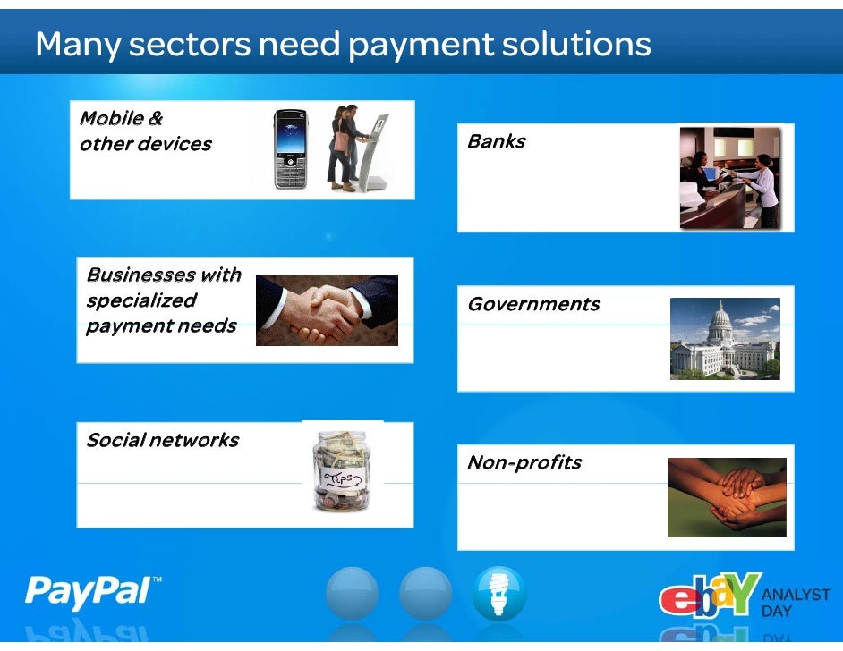 Tremendous growth ahead     Global Total Payment Volume                         $100-120B                         $100 120...