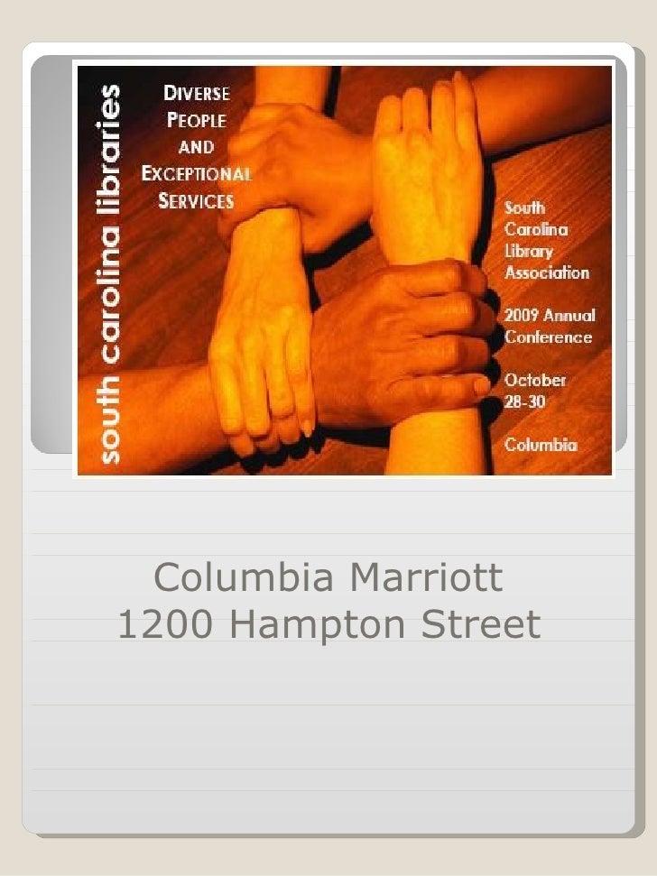 Columbia Marriott 1200 Hampton Street