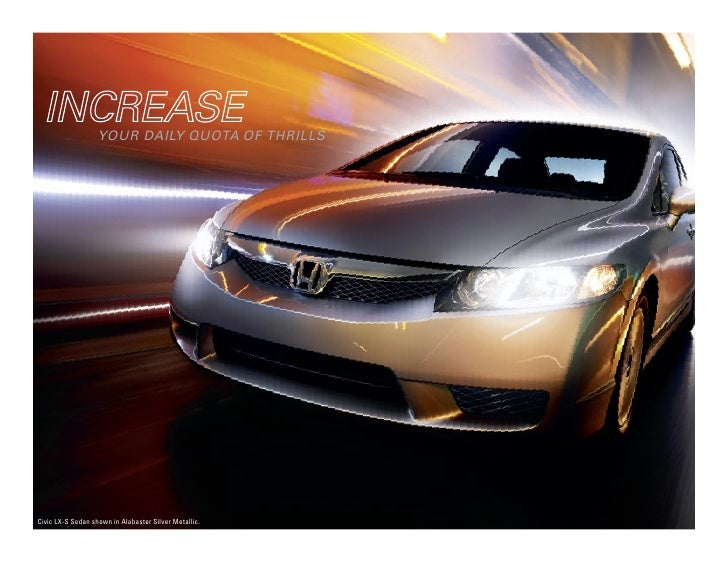 herb chambers 2009 honda civic hybrid brochure. Black Bedroom Furniture Sets. Home Design Ideas