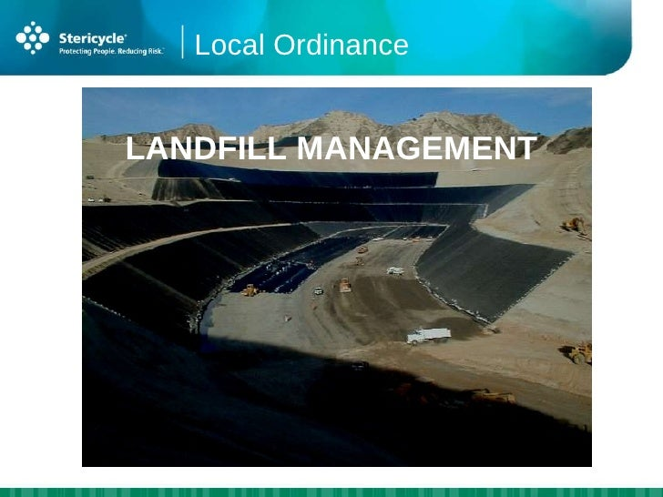 California Landfill Waste Disposal