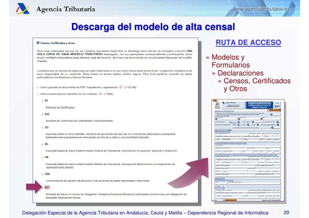 2009 informativas novedades inform ticas for Oficina virtual de la agencia tributaria